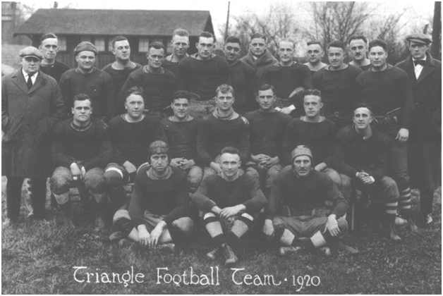 Dayton Triangles 1920 team photo