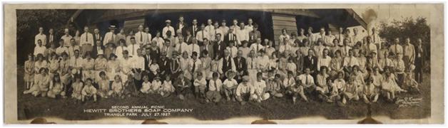 Hewitt Soap Picnic 1927